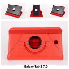 Samsung Rood Book Case Tablet voor Galaxy Tab 3 7.0