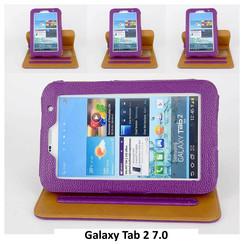 Samsung Paars Book Case Tablet voor Galaxy Tab 2 7.0