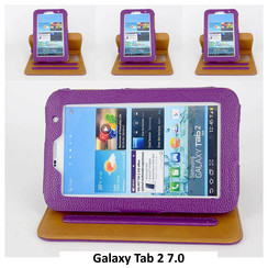 Samsung Purple Book Case Tablet for Galaxy Tab 2 7.0