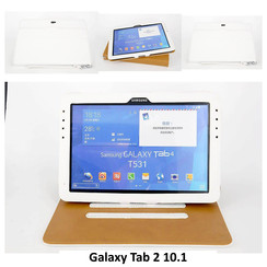 Samsung White Book Case Tablet for Galaxy Tab 2 10.1