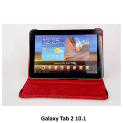 Samsung Tablet Housse Rouge pour Galaxy Tab 2 10.1