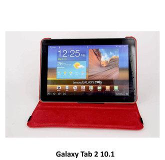 Samsung Rood Book Case Tablet voor Galaxy Tab 2 10.1
