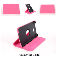 Samsung Pink Book Case Tablet for Galaxy Tab 3 Lite