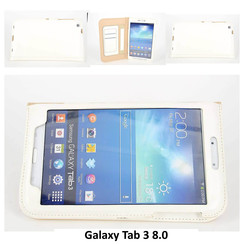 Samsung Wit Book Case Tablet voor Galaxy Tab 3 8.0