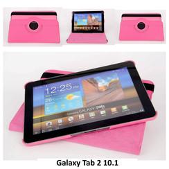 Samsung Roze Book Case Tablet voor Galaxy Tab 2 10.1