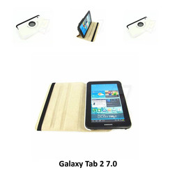 Samsung Wit Book Case Tablet voor Galaxy Tab 2 7.0