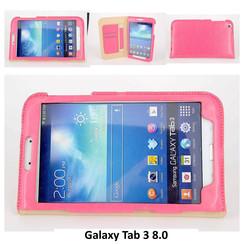Samsung Roze Book Case Tablet voor Galaxy Tab 3 8.0