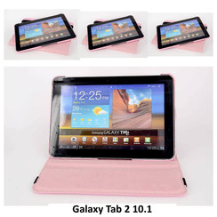 Samsung L Pink Book Case Tablet for Galaxy Tab 2 10.1