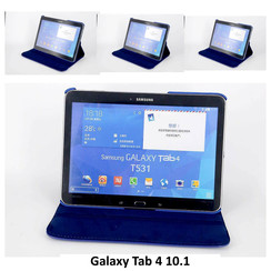 Samsung Blauw Book Case Tablet voor Galaxy Tab 4 10.1