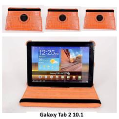 Samsung Oranje Book Case Tablet voor Galaxy Tab 2 10.1