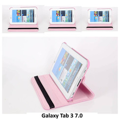 Samsung Pink Book Case Tablet for Galaxy Tab 3 7.0