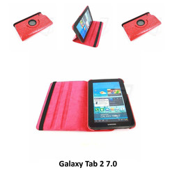 Samsung Roze Book Case Tablet voor Galaxy Tab 2 7.0