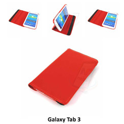 Samsung Red Book Case Tablet for Galaxy Tab 3