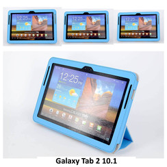 Samsung L Blue Book Case Tablet for Galaxy Tab 2 10.1