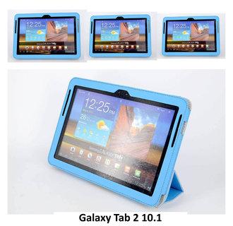 Samsung L Blauw Book Case Tablet voor Galaxy Tab 2 10.1