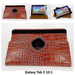 Samsung Tablet Housse Marron pour Galaxy Tab 2 10.1