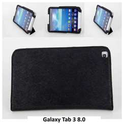 Samsung Black Book Case Tablet for Galaxy Tab 3 8.0