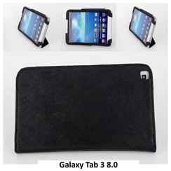 Samsung Tablet Housse Noir pour Galaxy Tab 3 8.0