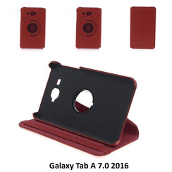 Samsung Galaxy Tab A 7.0 inch (2016) T280 / T285 housse 360 graden draaibare Case Red