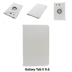 Samsung Wit Book Case Tablet voor Galaxy Tab E 9.6