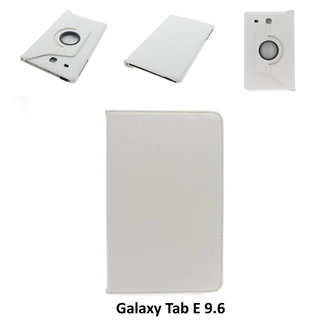 Samsung White Book Case Tablet for Galaxy Tab E 9.6