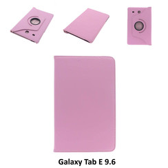 Samsung Pink Book Case Tablet for Galaxy Tab E 9.6