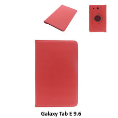 Samsung Red Book Case Tablet for Galaxy Tab E 9.6