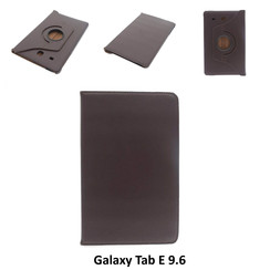 Samsung Tablet Housse Marron pour Galaxy Tab E 9.6