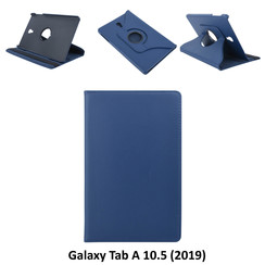 Samsung D Blauw Book Case Tablet voor Galaxy Tab A 10.5 (2019) (T590)