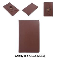 Samsung D Bruin Book Case Tablet voor Galaxy Tab A 10.5 (2019) (T590)