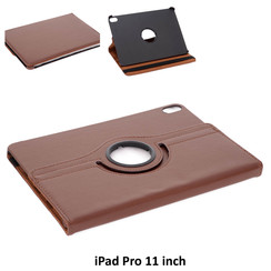 Apple Brown Book Case Tablet for iPad Pro 11 inch