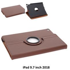 Apple Bruin Book Case Tablet voor iPad 9.7 inch 2018