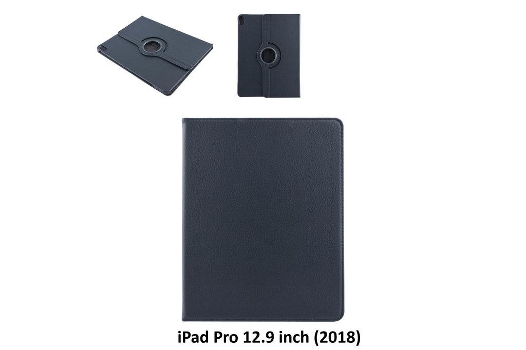 Andere merken Apple Zwart Book Case Tablet voor iPad Pro 12.9 inch (2018)
