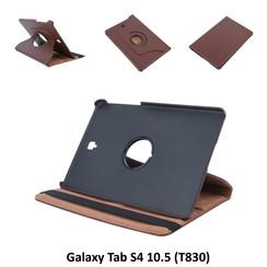 Samsung D Bruin Book Case Tablet voor Galaxy Tab S4 10.5 (T830)