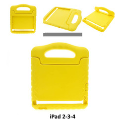 Apple Yellow Back Cover Tablet for iPad 2-3-4