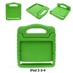 Apple Green Back Cover Tablet for iPad 2-3-4