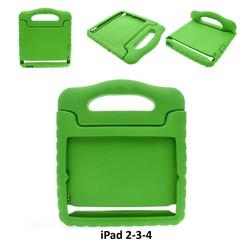 Apple Groen Back Cover Tablet voor iPad 2-3-4