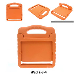 Apple Orange Back Cover Tablet for iPad 2-3-4
