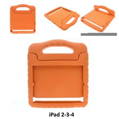 Apple Oranje Back Cover Tablet voor iPad 2-3-4