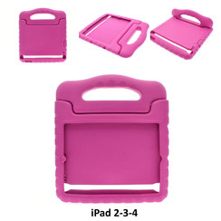 Apple Hot Pink Back Cover Tablet for iPad 2-3-4