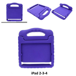 Apple Paars Back Cover Tablet voor iPad 2-3-4