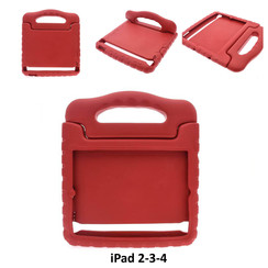 Apple Rood Back Cover Tablet voor iPad 2-3-4