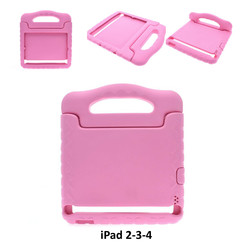 Apple Pink Back Cover Tablet for iPad 2-3-4