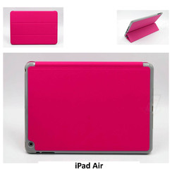 Apple Hot Pink Book Case Tablet for iPad Air