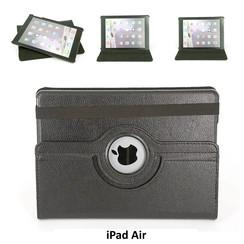 Apple Zwart Book Case Tablet voor iPad Air