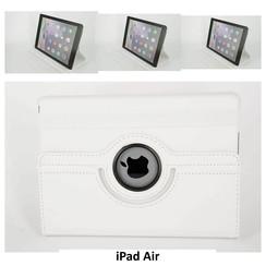 Apple Wit Book Case Tablet voor iPad Air