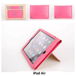 Apple Roze Book Case Tablet voor iPad Air