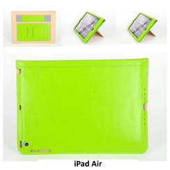 Apple Groen Book Case Tablet voor iPad Air