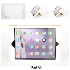 Apple Wit Book Case Tablet voor iPad Air