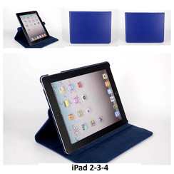 Apple Blue Book Case Tablet for iPad 2-3-4